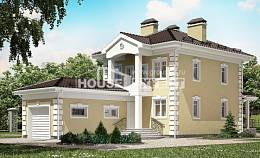 150-006-L Two Story House Plans with garage in front, available House Plan,