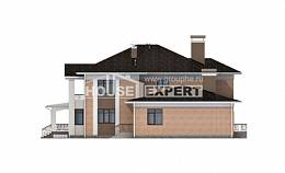 520-001-R Three Story House Plans, modern Home House,