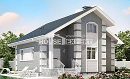 115-001-L Two Story House Plans with mansard roof, classic Plans To Build,