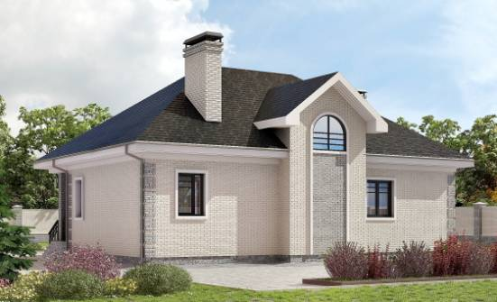 150-013-R Two Story House Plans with mansard, a simple Woodhouses Plans,