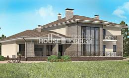 500-001-R Three Story House Plans with garage, a huge Plans Free,