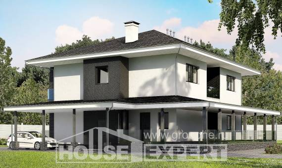 245-002-R Two Story House Plans with garage in back, best house House Plans,