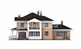 520-001-R Three Story House Plans, classic House Online,