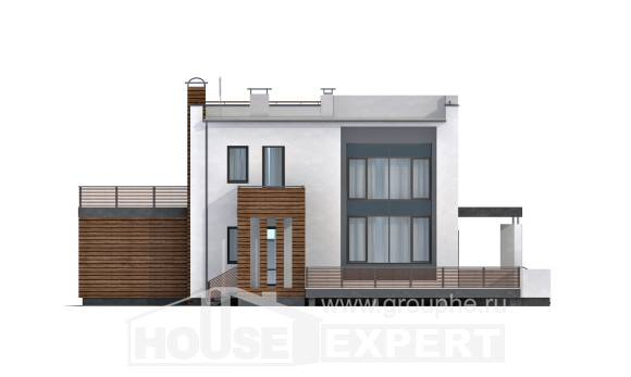 220-003-R Two Story House Plans with garage, modern Custom Home Plans Online,