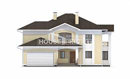 375-002-L Two Story House Plans and garage, a huge Design Blueprints,