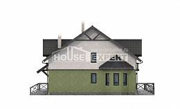 120-003-R Two Story House Plans, inexpensive House Building,
