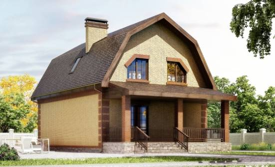 130-005-L Two Story House Plans and mansard, the budget Planning And Design,