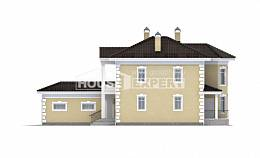 150-006-L Two Story House Plans and garage, small Models Plans,