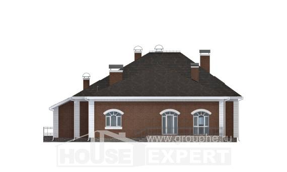 400-003-R Two Story House Plans and mansard, classic Home Blueprints,