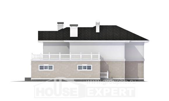 340-002-R Two Story House Plans and garage, best house Planning And Design,