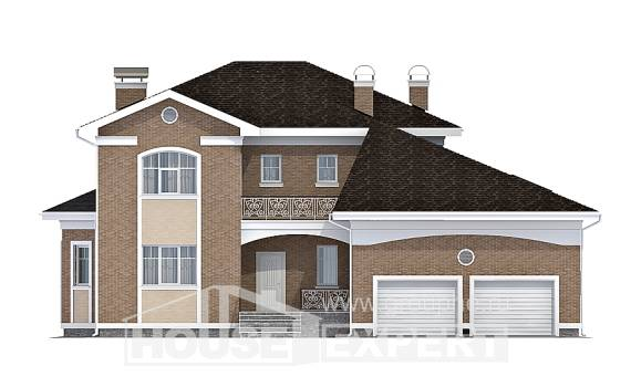 335-002-R Two Story House Plans and garage, luxury Planning And Design,