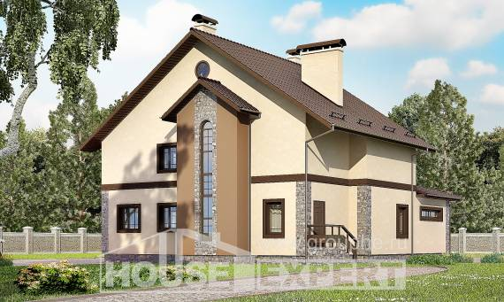 265-003-L Two Story House Plans, modern Home House,