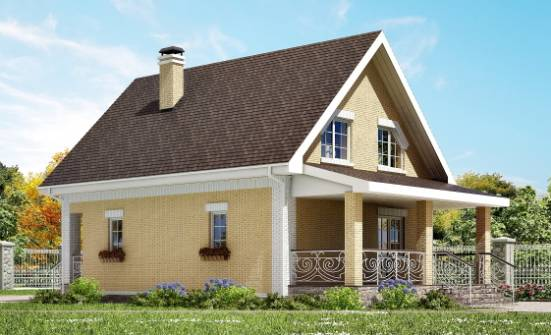 130-004-R Two Story House Plans with mansard, available Custom Home Plans Online,