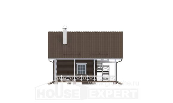 080-001-R Two Story House Plans and mansard, classic House Online,