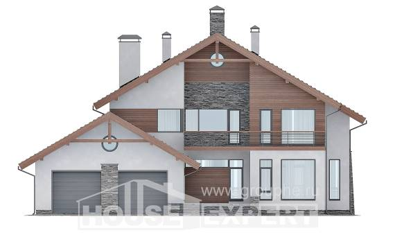 270-003-L Two Story House Plans with mansard roof with garage, best house Models Plans,